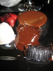 6 ingredients = explosive chocolate nirvana!