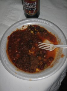 An amalgam of chili samples