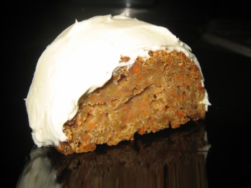 carrot cake frosted