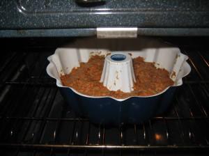 carrot cake oven